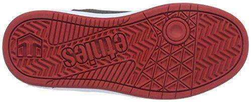 Etnies Skateboard Para Grau Grey Zapatillas Unisex white 383 De Niños Etniesmarana red Xq66trp