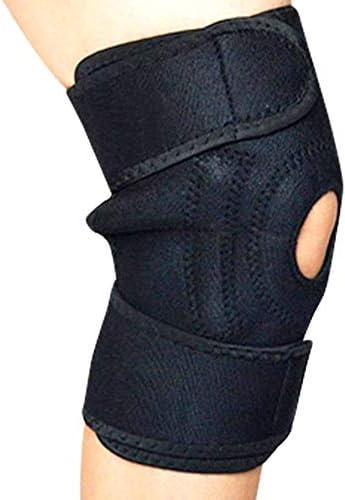 Verstellbare Magnetkniebandage - PATELLA SUPPORT mit Magnet-Therapie - Adjustable Magnetic Knee Support - PATELLA SUPPORT with magnet therapy