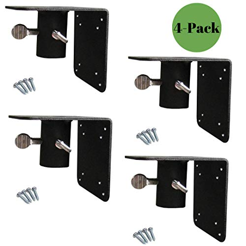 Squirrel Stopper 4-Pack Universal Mounting Flange for Bird Houses/Bird Feeders ()