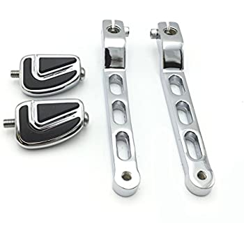 Chrome Heel Toe Shift Lever With Shifter Peg For Harley Touring 2008-2016