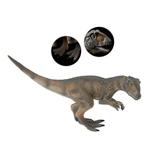 Misright Allosaurus Dinosaur Action Figure Toys Hand Puppet Kids Educational Model