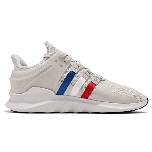 Adidas Mens Eqt Support Adv, Chalk Pearl / Cloud White / Scarlet, 8,5 M Us