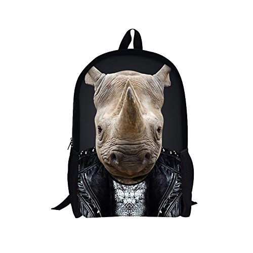 Indian Contemporary Dance Costume Ideas (TOREEP Wolf Tiger Panda Bear Print Animal Backpack for Teens(Big))