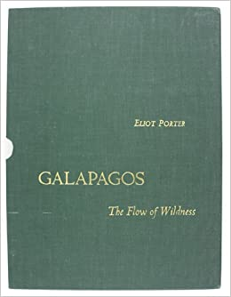 GALAPAGOS  The Flow of Wildness. Volume 1 - Discovery. Volume 2 - Prospect.  Sierra Club Exhibit Format Series. Two Volumes. Hardcover – 1968 51972a51cdd