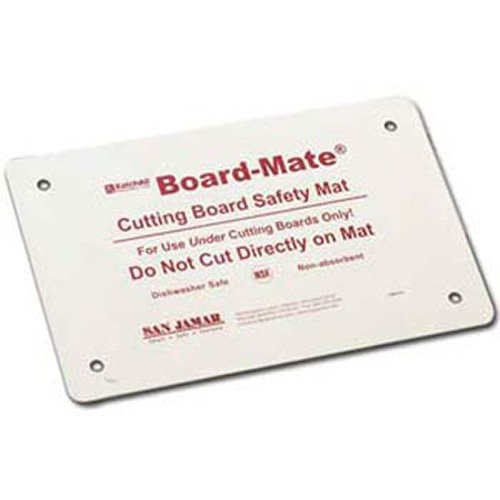 - San Jamar CBM1318 Saf-T-Grip Board-Mate Nonslip Cutting Board Mat, 18