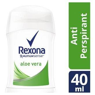 Rexona Motion Sense Aloe Vera Cool Calming Deodorant Stick 40ml / 1.35 Oz Travel Size (Pack of 6)