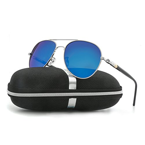 Aviator Sunglasses for Men Women Polarized VOPOLAR Metal Frame UV400 - Uv400 Sunglasses