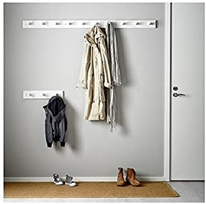 Ikea KUBBIS - Estante con 3 ganchos, color blanco: Amazon.es ...