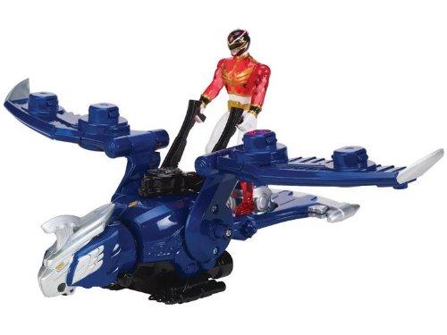 Bandai 35092 - Power Rangers Megaforce - Gosei Jet mit roter Ranger Figur