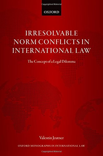 Picture of an Irresolvable Norm Conflicts in International 9780198808374