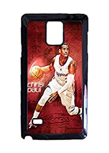 Chris Paul Custom Image Case, Diy Durable Hard Case Cover for Samsung Galaxy Note 4 , High Quality Plastic Case By Argelis-Sky, Black Case New