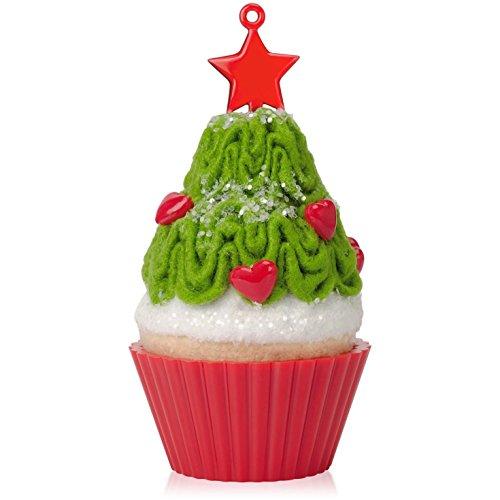 Hallmark Tasty Tannenbaum Christmas Cupcake Ornament