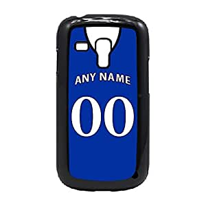 Case Fun Case Fun Personalised Everton Football Shirt, Any Name, Any Number Snap-on Hard Back Case Cover for Samsung GalaxyS3 Mini (I8190)