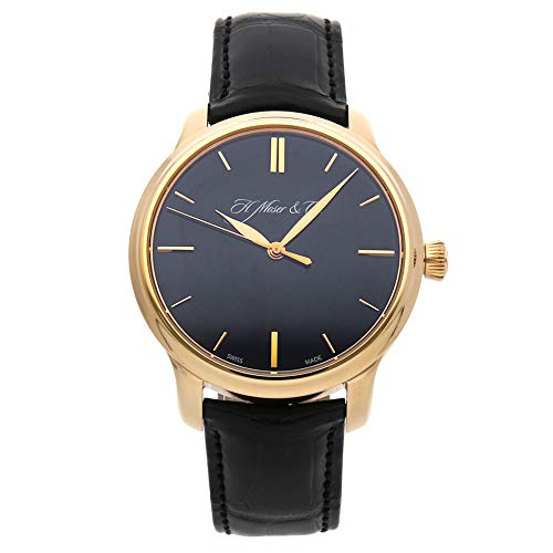 H. Moser & Cie Endeavour Centre Seconds Mechanical (Hand-Winding) Black Dial Mens Watch 343.505-017 (Certified Pre-Owned)