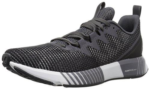 - Reebok Men's Fusion Flexweave Running Shoe, ash grey/tin grey/coal/pr, 9 M US