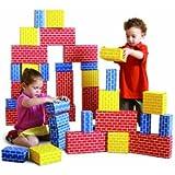Edushape Corrugated Blocks, Set of 52 toys