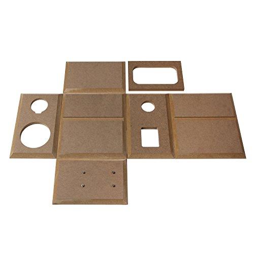 Swan Speakers - DIY 2 2A - 2 2 Bookshelf Speakers - Near-Field Speakers -  Compact Solid Wood Bookshelf Cabinet - DIY Speaker Kit - Pair ::