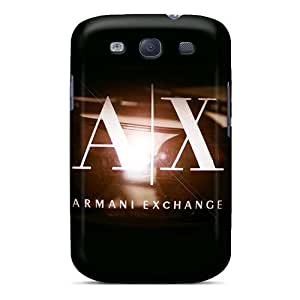 Marycase88 Samsung Galaxy S3 Shock-Absorbing Hard Phone Cases Support Personal Customs Fashion Armani Exchange Image [msP718gkZM]