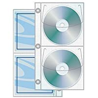 2 Disc Half Binder page with Safety-sleeve® - Box of 500