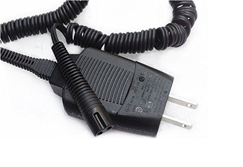 Replacement Shaver Charging Cord for Braun Model 5497 12V Charger 5497 300S 3010S S300