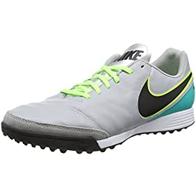 Nike TIEMPOX GENIO II LEATHER TF mens soccer-shoes 819216