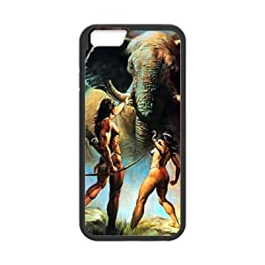 Tarzan iPhone 6 Plus 5.5 Inch Cell Phone Case Black Phone cover O7533655