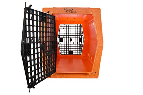RUFF TOUGH KENNELS Intermediate Double Door Kennel, Crate, D