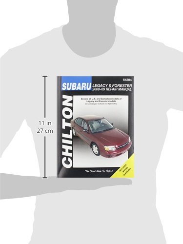 Chilton total car care subaru legacy 2000 2009 forester 2000 2008 chilton total car care subaru legacy 2000 2009 forester 2000 2008 repair manual chilton 9781620920220 amazon books fandeluxe Image collections