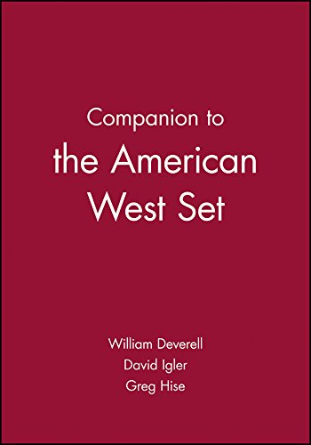 Companion to the American West Set (Wiley Blackwell Companions to American History)