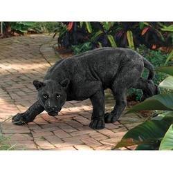 Artistic Solutions African Wildlife Jungle Beast Predator Black Panther Home Garden Gallery Statue