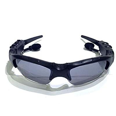 Bluetooth Smart Sunglasses Glasses Headphone Music Headset Stereo Micphone