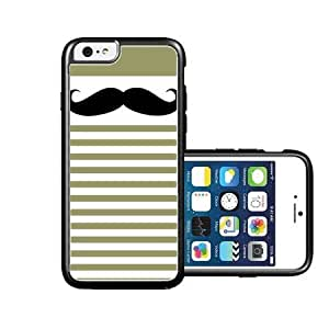 RCGrafix Brand Mustache-stripes iPhone 6 Case - Fits NEW Apple iPhone 6 by supermalls