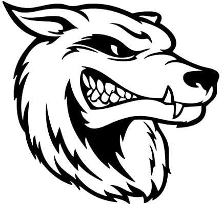 Leon Online Box Wolf Hungry – Adhesivo de Vinilo para Coche ...