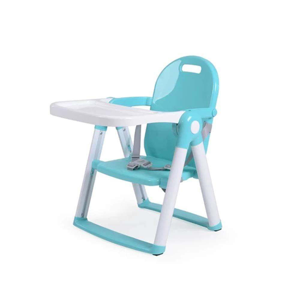 ZXQZ 赤ん坊の高い椅子、きれいになること容易な多機能の折り畳み式の携帯用子供のダイニングチェアの赤ん坊の椅子の座席   B07V6TG45R