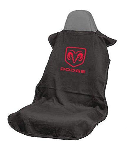 Seat Armour SA100DODB Black 'Dodge' Seat Protector Towel