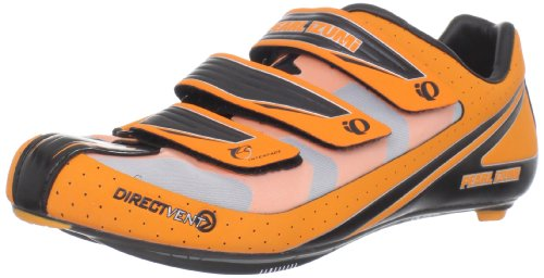 Pearl iZUMi Men's Octane III Road Cycling Shoe,Safety Orange/Black,41 EU/8 D US