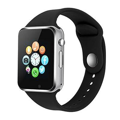 Smart Watch Phone Camera, IOQSOF Touch Screen Smart Wristwatch