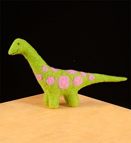 WoolPets Needle Felting Kit - Dinosaur