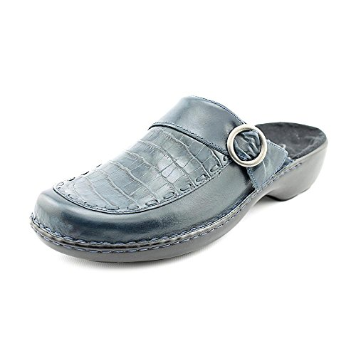 Clarks Cicely Women 8 W Wide US New Blue Mules