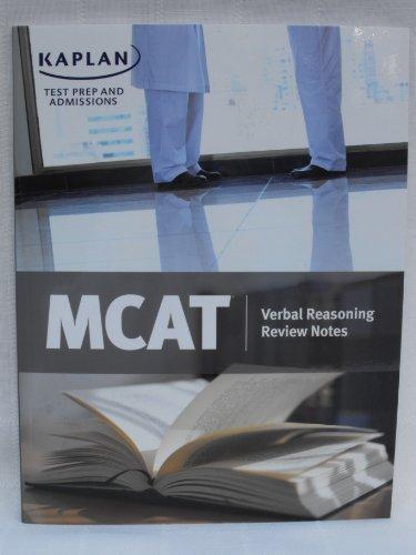 KTPA MCAT Verbal Reasoning and Writing
