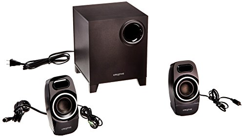 Creative A250 2.1 Multimedia Speaker System (Best 2.1 Speakers For Music)
