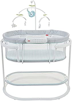 Fisher-Price Soothing Motions Bassinet (White)