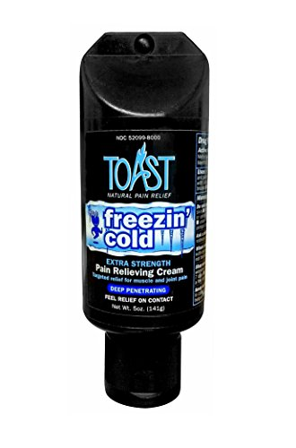 Toast Freezin' Cold Extra Strength Pain Relief Cream for Muscles and Joints - 5 ounces