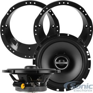 Alpine SPS-610 Speakers w/ Adapters For Select 1998-2013 Harley Davidson 160W 6.5