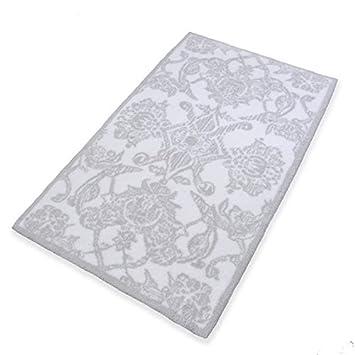 Abyss & Habidecor.- Tapis de bain Giverny 70x120 cm, 992 Platinum ...