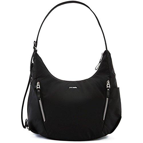 - PacSafe Stylsafe anti-theft convertible crossbody bag Messenger Bag, 38 cm, 10 liters, Black (Black 100)
