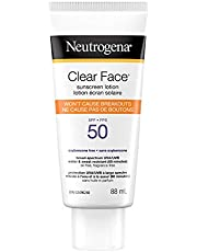 Neutrogena Suncare Neutrogena clear face Sunscreen Spf 50, 88 ml.