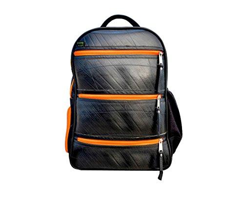 Orange Ecowings Sacoche Homme Dos Black À Tiger Ordinateur 1w8w0Cq4H