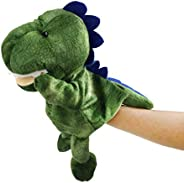 Athoinsu Adorable Dinosaur T-Rex Hand Puppets Story-Telling Role-Playing Imagination Play Birthday Christmas f