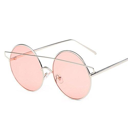 Aoligei Lunettes de soleil tendance petit démon Dame européens et américains lunettes oeil de chat B